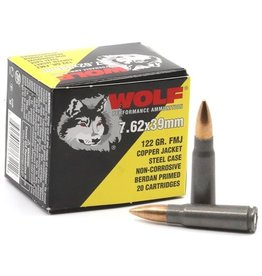 Wolf Wolf - 7.62x39 - 122gr CFMJ Performance - 20ct