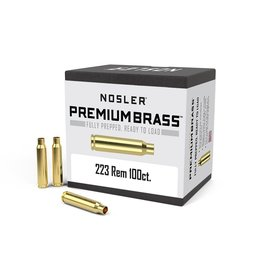 Nosler Nosler - 223 Remington Brass - 100 count