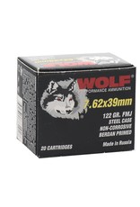 Wolf Wolf - 7.62x39 - 122gr FMJ Performance - 20ct
