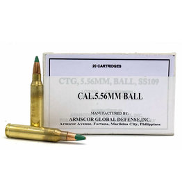 Armscor Precision Armscor - 5.56mm - 62gr SS109/M855 - 20rd