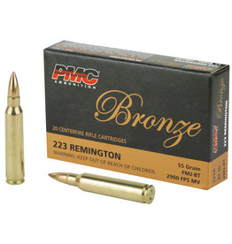 PMC PMC - 223 Rem - 55gr FMJ - 20ct