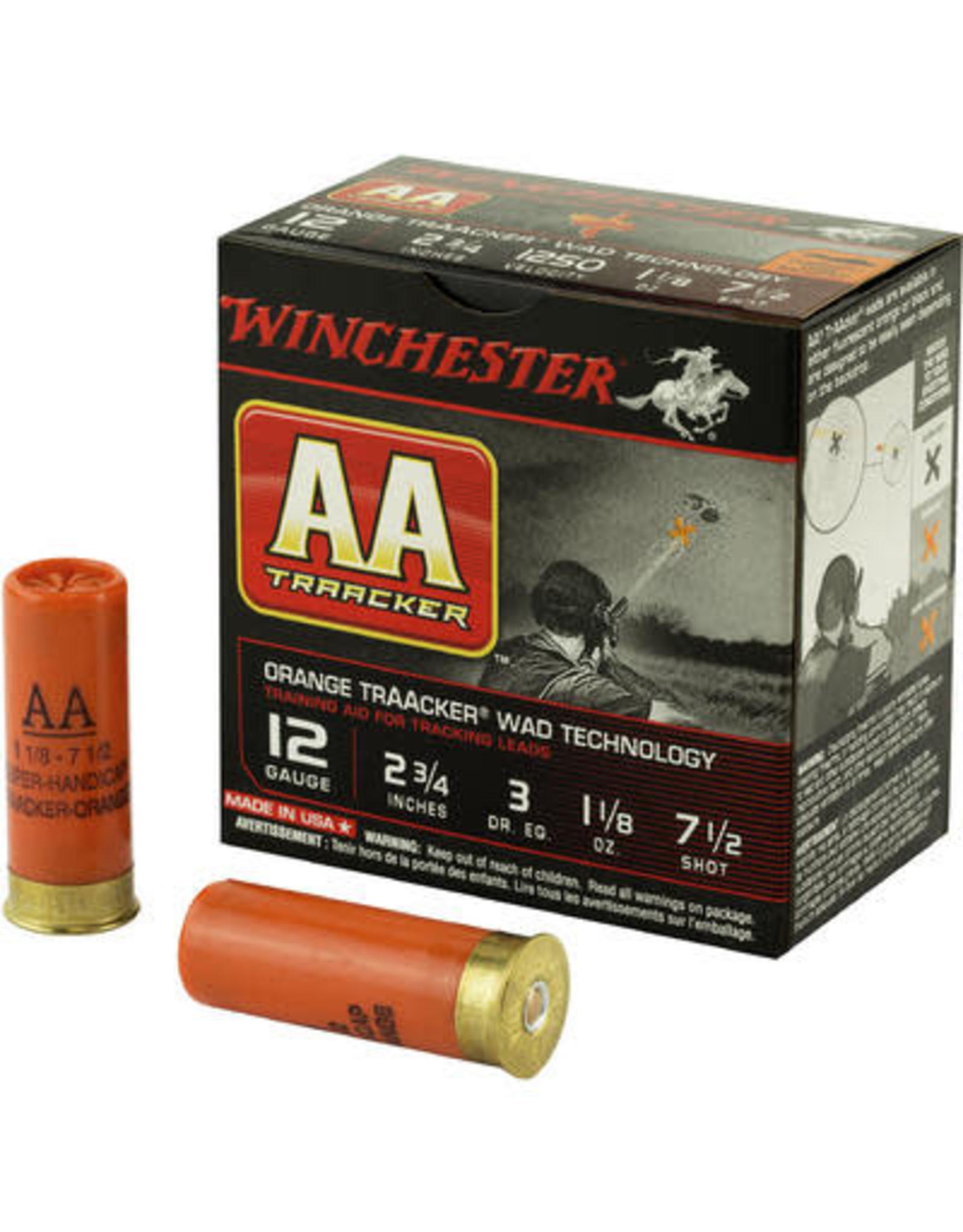 "Winchester Winchester - 12ga - 2.75"" 1.25oz #7.5 TrAAcker - 25rd"