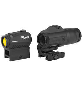 Sig Sauer Sig Sauer - Romeo5/Juliet3 Combo - 2MOA Red Dot and 3x Magnifier