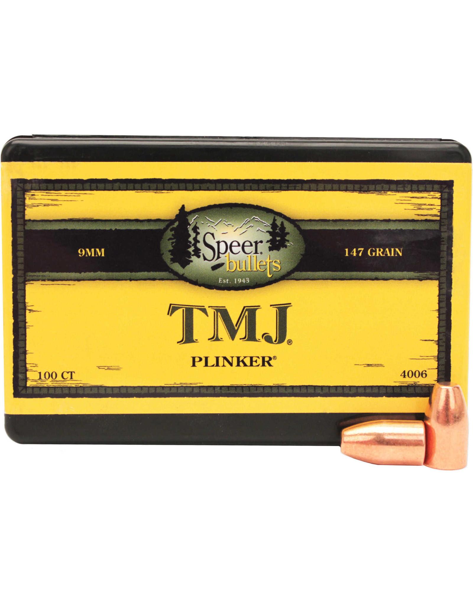"""Speer Speer (.355"""") - 147gr TMJ - 100 count"""