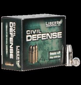 Liberty Ammunition Liberty Defense - 9mm - 50gr Civil Defense - 20ct