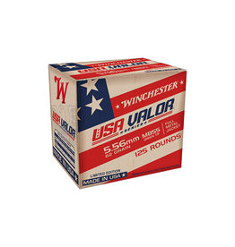 Winchester Winchester - 5.56mm - 62gr FMJ M855 USA Valor - 125ct