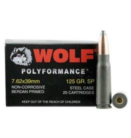Wolf Wolf - 7.62x39 - 125gr SP Polyformance - 20ct