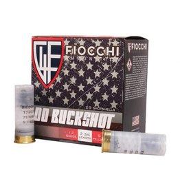"""Fiocchi Fiocchi - 12ga 2-3/4"""" Buck - #00-9 - 25ct"""