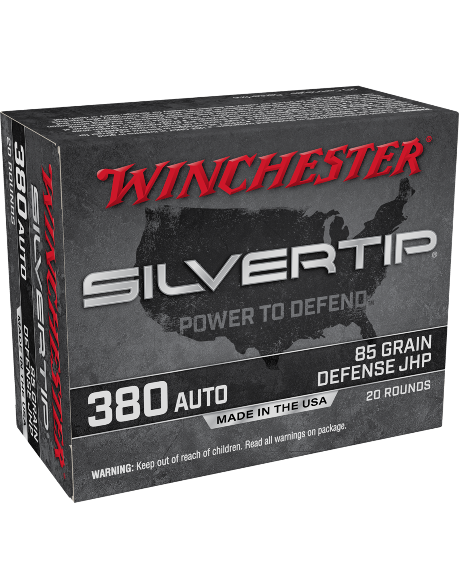 Winchester Winchester - 380 ACP - 85gr SilverTip HP - 20ct