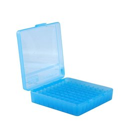 MTM Case Gard MTM Pistol Case - Blue Flip Top - 380/9 - 100rd