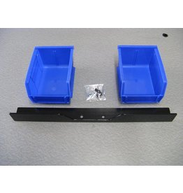 Inline Fabrication Inline Dual Bin/Bracket Set (Square Deal)