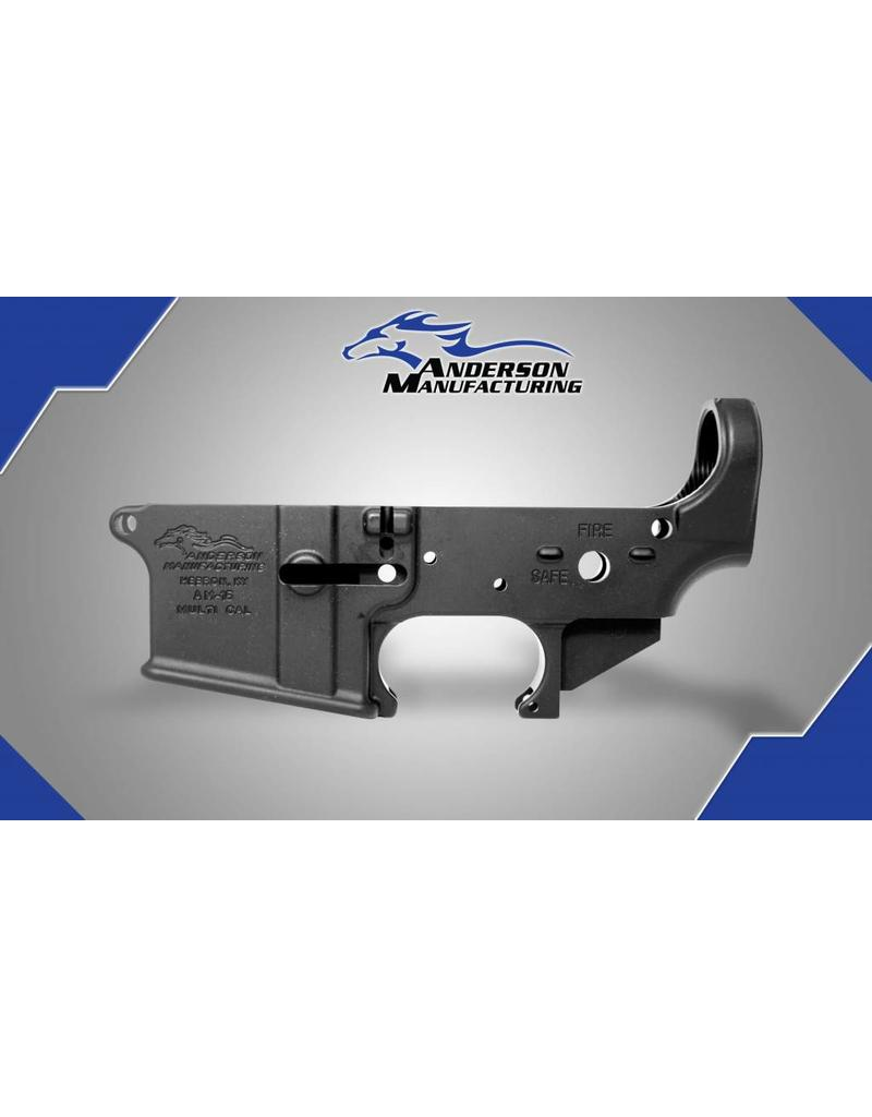 Anderson Manufacturing AM-15 Receiver - Open