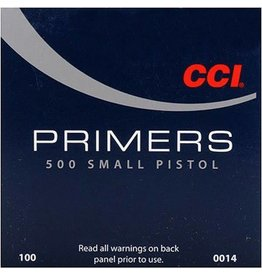 CCI CCI Primers -  Small Pistol 1000ct