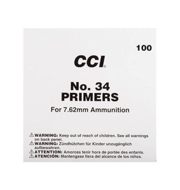 CCI CCI Primers -  7.62mm Military (#34) 1000ct