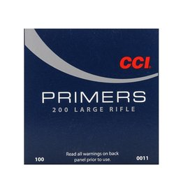 CCI CCI Primers - Large Rifle 1000ct
