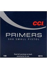 CCI CCI Primers -  Small Pistol 5000ct