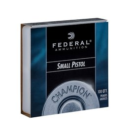 Federal Federal Champion Primers -  Small Pistol 5000ct