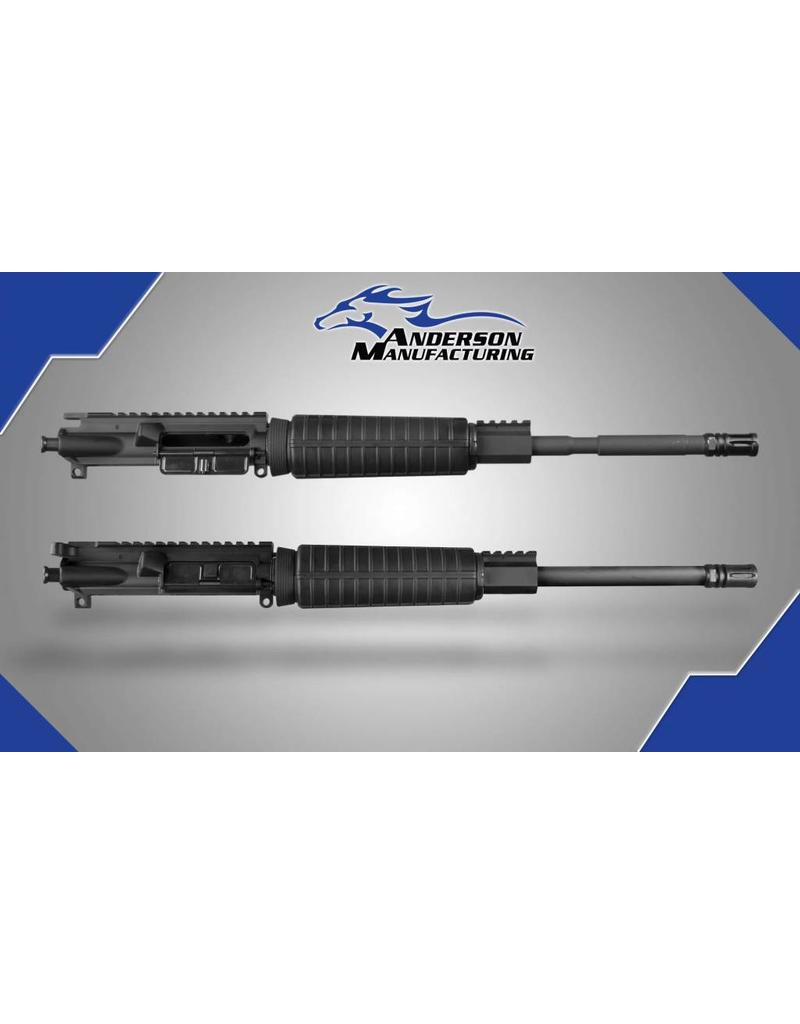 """Anderson Manufacturing AR15 Upper Combo - 5.56 and 300BLK - 16"""" - Two Uppers/One BCG/One CH"""