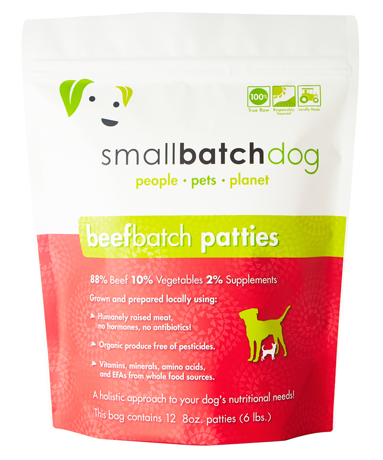 SmallBatch SmallBatch Frozen Raw Dog Food
