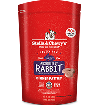 Stella & Chewy's Stella & Chewy's Frozen Raw Dog Food Rabbit