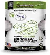 My Perfect Pet My Perfect Pet Frozen Lightly Cooked Dog Food Buckaroo's Puppy Chicken & Beef 3.5#