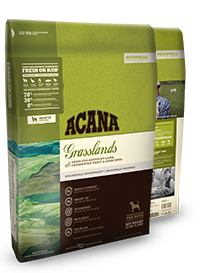 Champion (Orijen & Acana) Champion Acana Kibble Grain Free Dog Food Regionals Grasslands