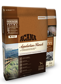Champion (Orijen & Acana) Champion Acana Kibble Grain Free Dog Food Regionals Appalachian Ranch