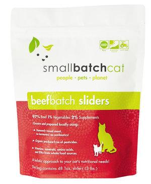 SmallBatch SmallBatch Frozen Raw Cat Food Beef 3#