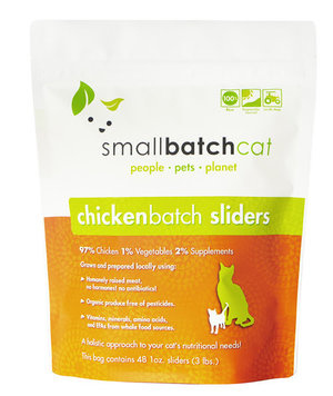 SmallBatch SmallBatch Frozen Raw Cat Food Chicken 3#