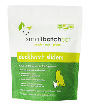 SmallBatch SmallBatch Frozen Raw Cat Food Duck 3#