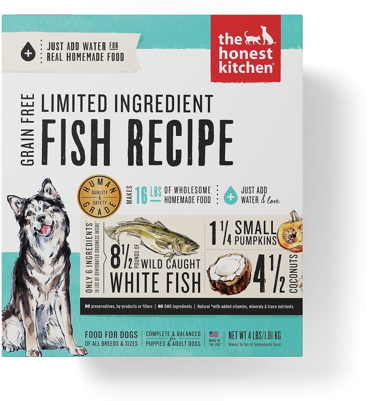 Honest Kitchen Honest Kitchen Gently Dehydrated Limited Grain Free Dog Fish Brave