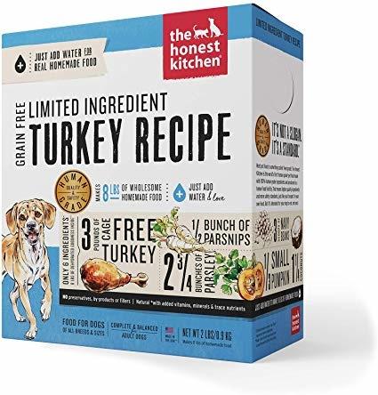 Honest Kitchen Honest Kitchen Gently Dehydrated Limited Grain Free Dog Turkey Marvel