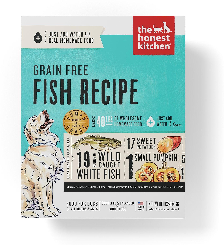 Honest Kitchen Honest Kitchen Gently Dehydrated Grain Free Dog Fish Zeal