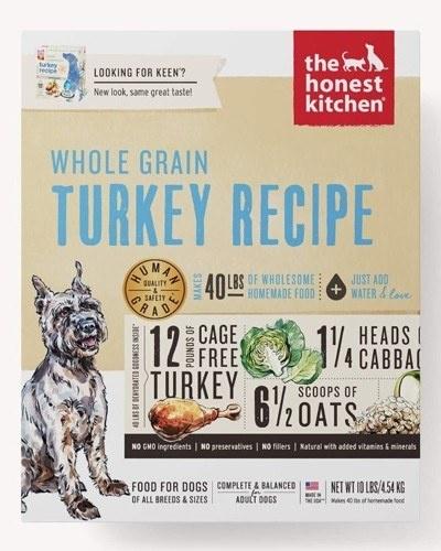 Honest Kitchen Honest Kitchen Gently Dehydrated Whole Grain Dog Turkey Keen