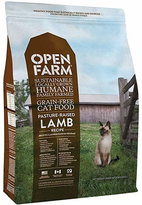 Open Farm Open Farm Kibble Grain Free Cat Food Lamb