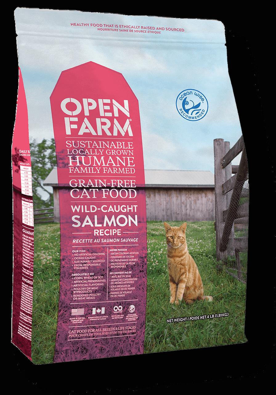 Open Farm Open Farm Kibble Grain Free Cat Food Salmon