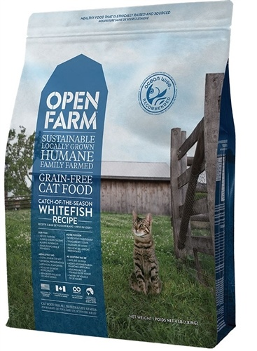 Open Farm Open Farm Kibble Grain Free Cat Food White Fish