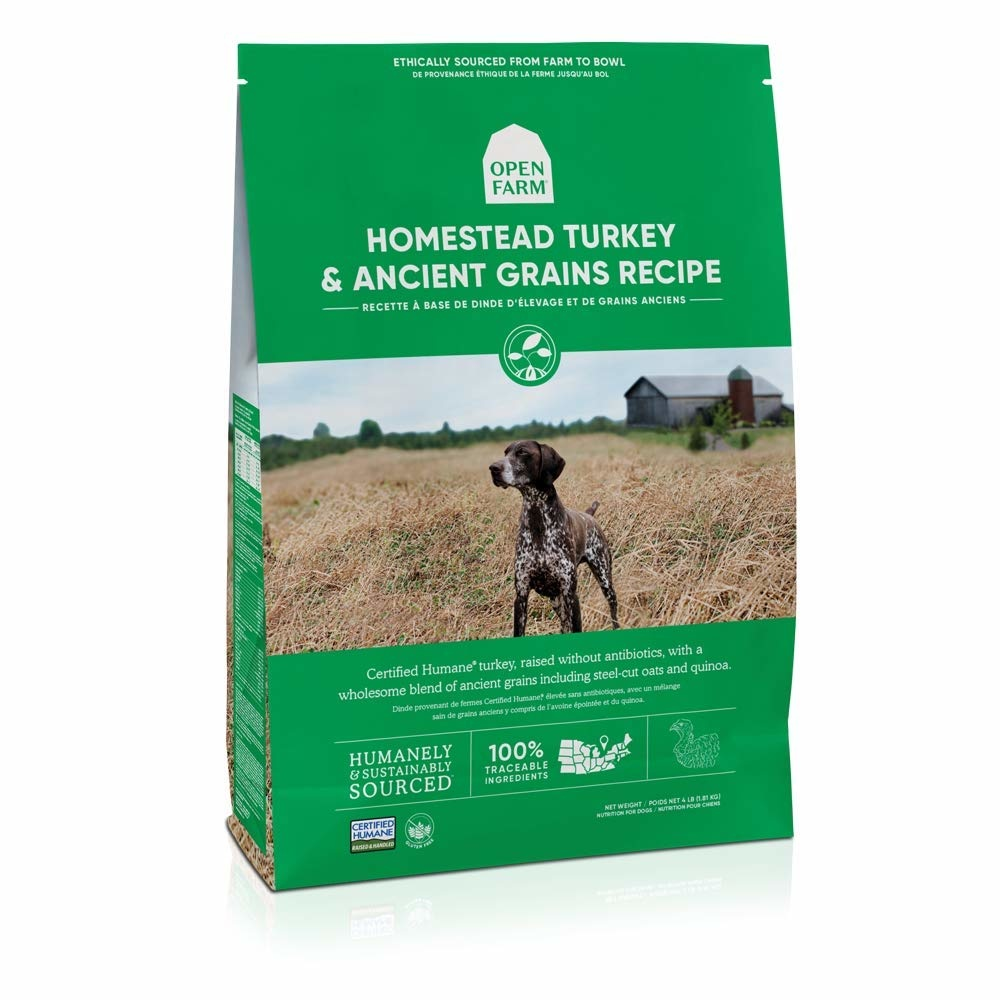 Open Farm Open Farm Kibble With Grain Dog Food Turkey