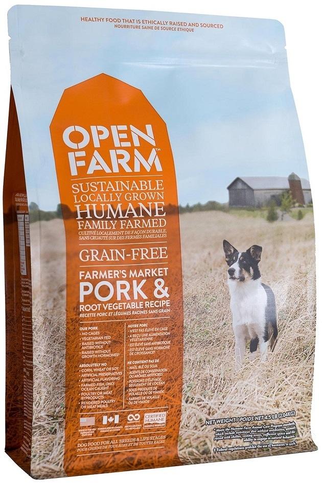 Open Farm Open Farm Kibble Grain Free Dog Food Pork