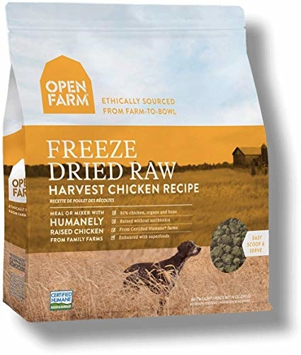 Open Farm Open Farms Freeze Dried Dog Food Harvest Chicken 13.5oz