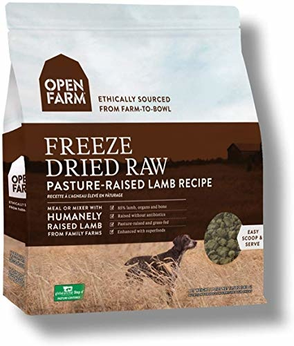 Open Farm Open Farms Freeze Dried Dog Food Pasture Lamb