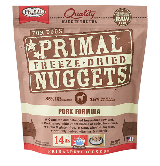 Primal Freeze Dried Dog Food Pork