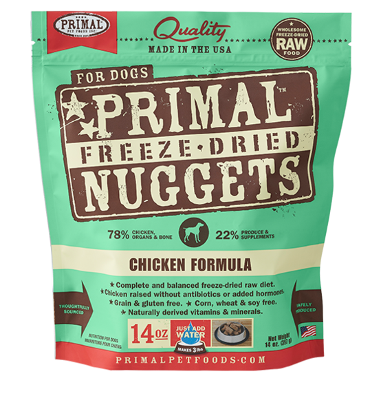 Primal Freeze Dried Dog Food Chicken