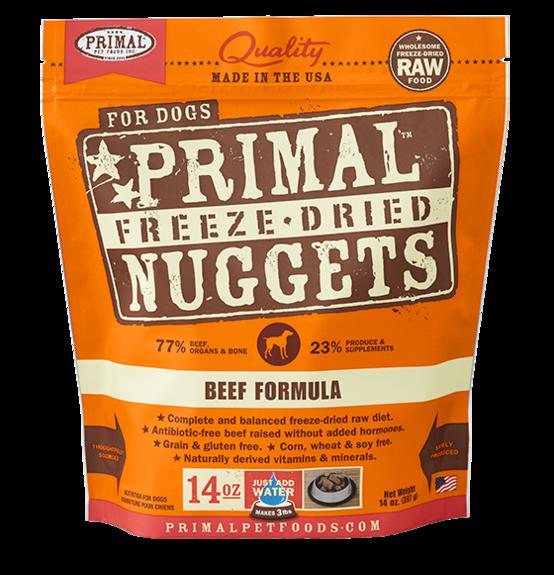 Primal Freeze Dried Dog Food Beef
