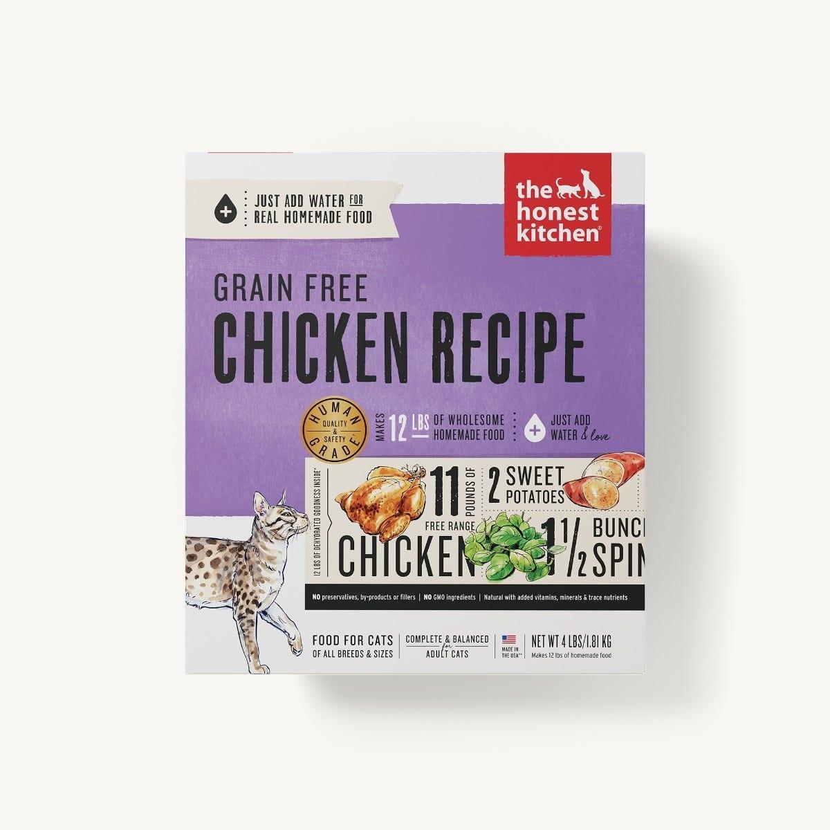 Honest Kitchen Honest Kitchen Gently Dehydrated Grain Free Cat Chicken Prowl