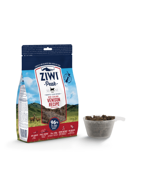 Ziwipeak Gently Air-Dried Grain Free Cat Food Venison