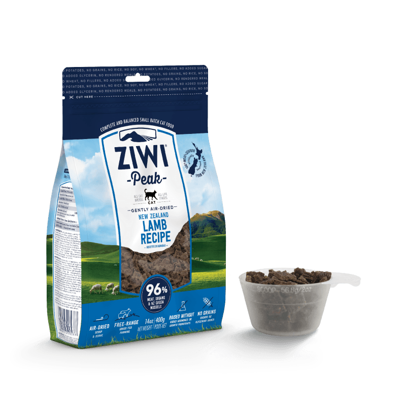Ziwipeak Gently Air-Dried Grain Free Cat Food Lamb 14oz