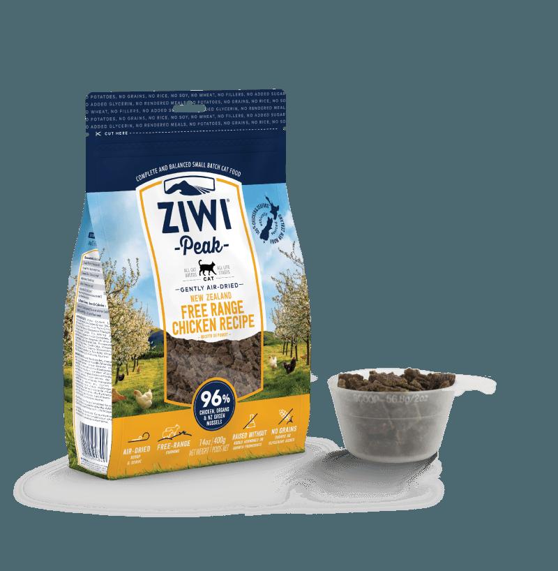 Ziwipeak Gently Air-Dried Grain Free Cat Food Chicken 14oz