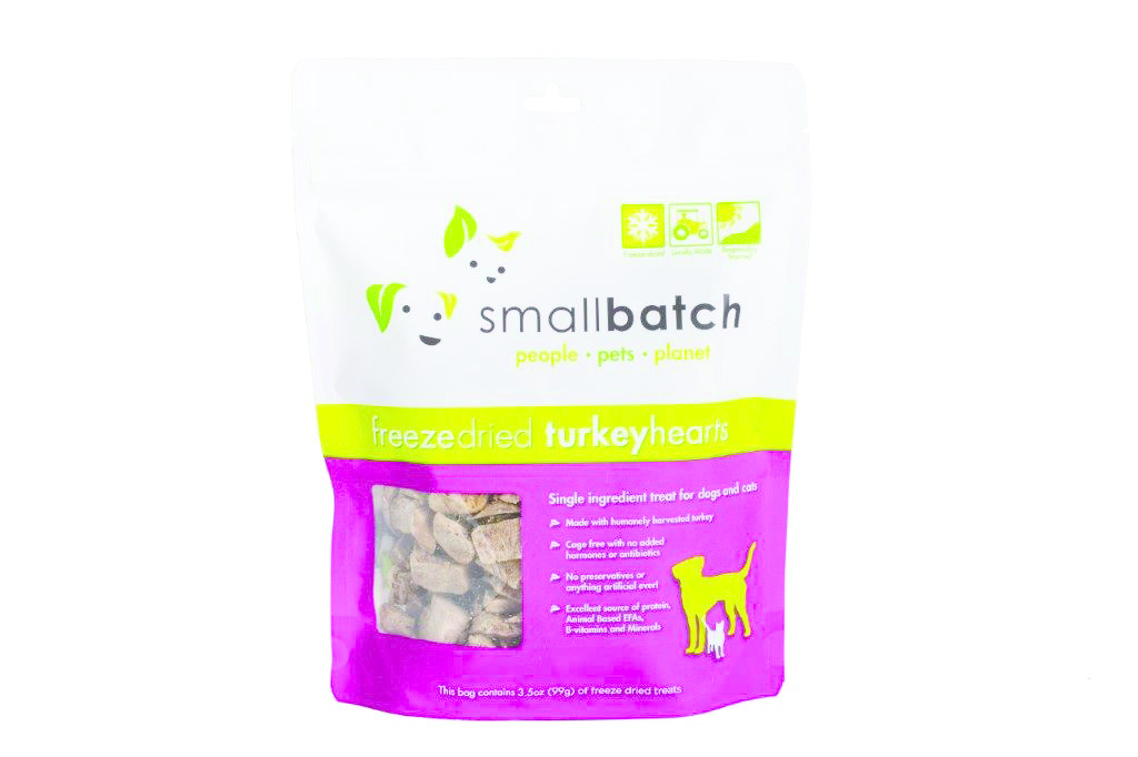 SmallBatch Smallbatch Treat Freeze Dried Dog Turkey Hearts 3.5oz