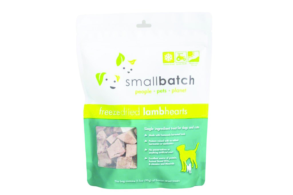 SmallBatch Smallbatch Treat Freeze Dried Dog Lamb Hearts 3.5oz